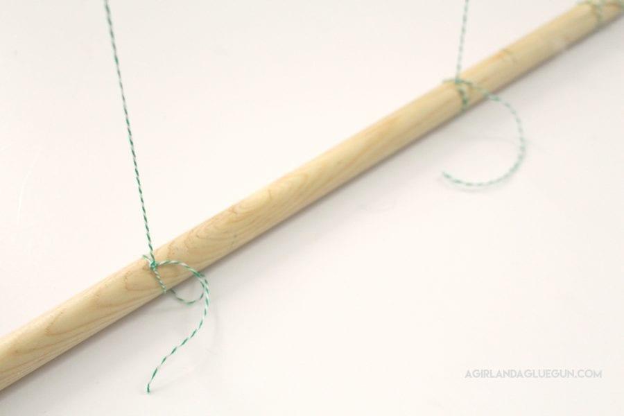 tie-to-long-dowel