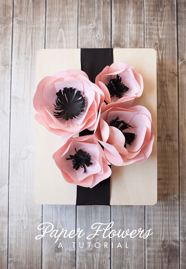 25 Fun Ways To Use Paper Flowers A Girl And A Glue Gun