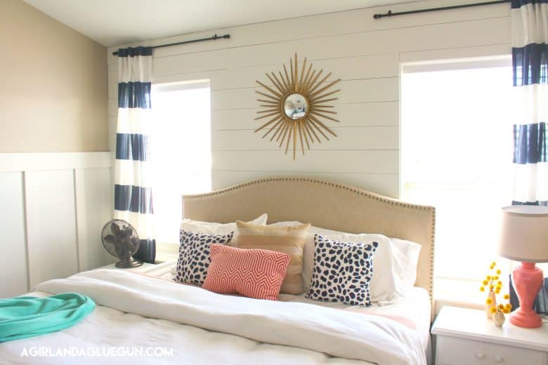 How to shiplap a wall the Dos and DONTs A girl and a glue gun
