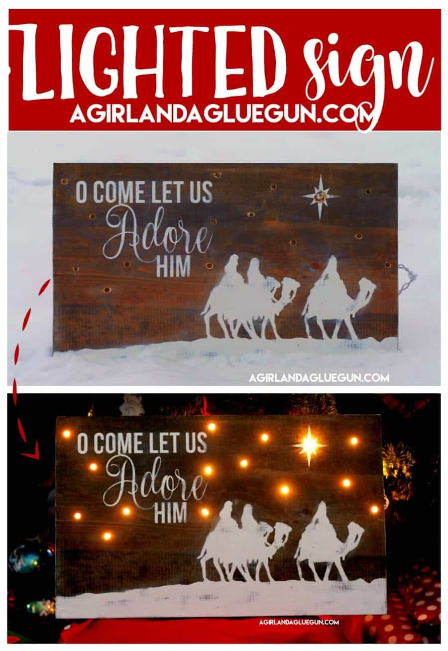 Christmas Signs Part - 47: Diy Christmas Wood Sign With Vinyl
