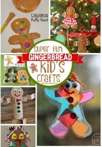 Gingerbread kid crafts and diy!