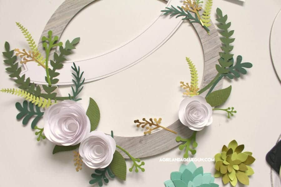 how to assemble paper flowers