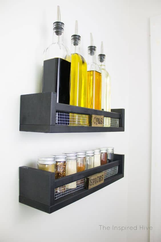 40 ways to organize with an Ikea Spice Rack - A girl and a