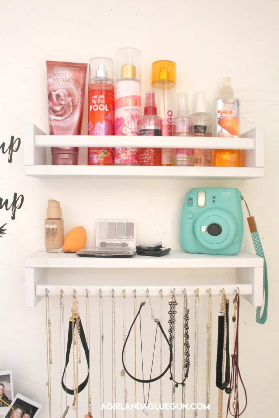 organizing with ikea spice rack