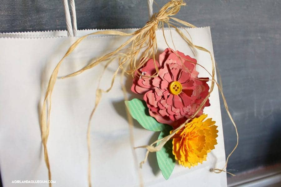 paper flower boxes