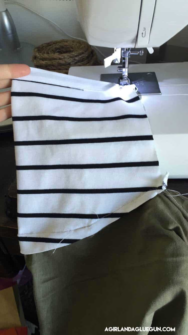 sew up sleeves