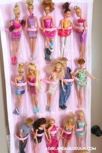 Throwback: Barbie organizer
