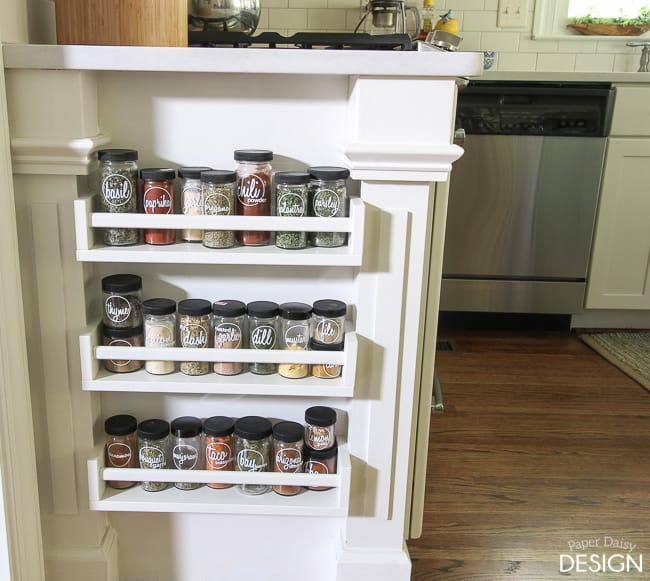 Spruce Up Your Kitchen With These Cabinet Door Styles: 40 Ways To Organize With An Ikea Spice Rack
