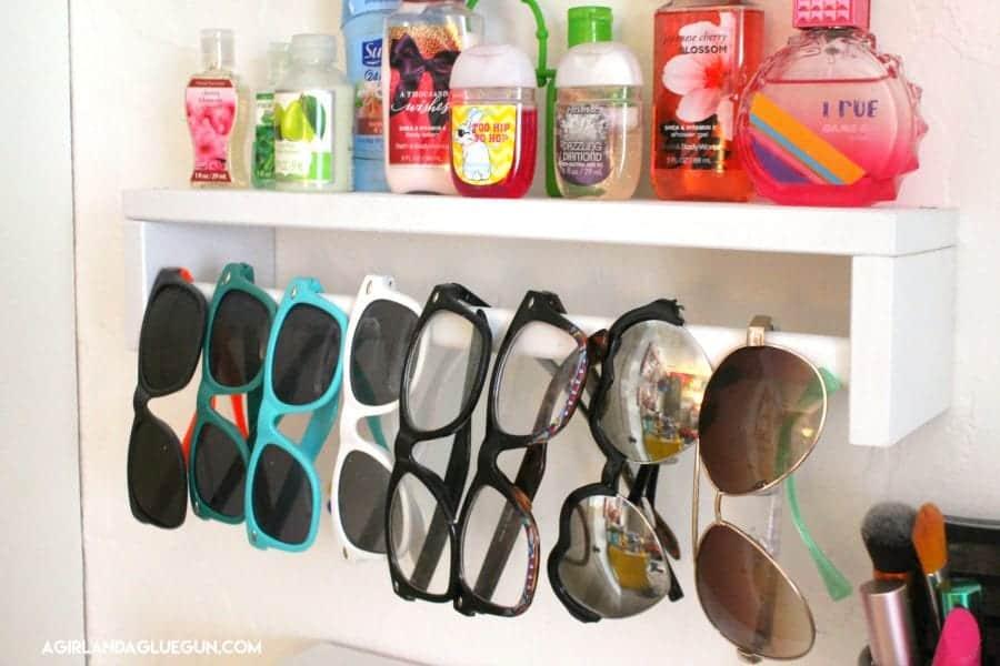sunglass holder