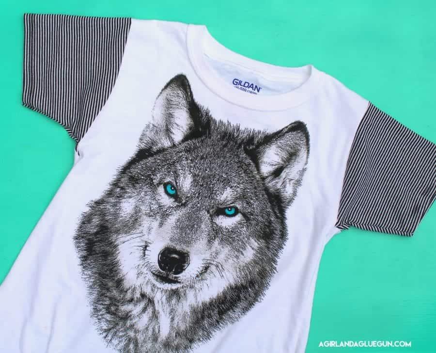 wolf shirt diy