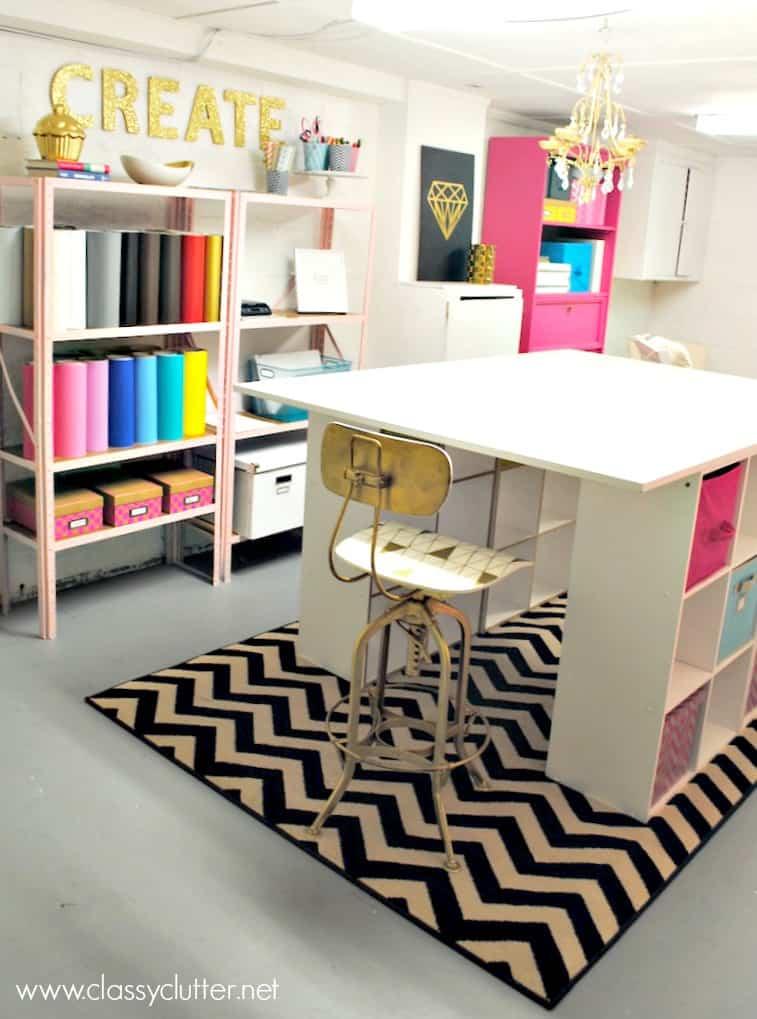 50 Craft Rooms A Girl And A Glue Gun