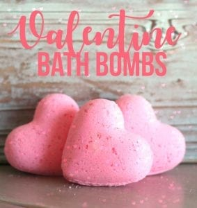 Valentine Confetti Bath Bombs!