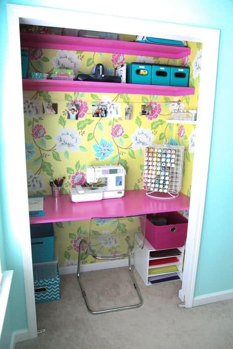 The DIY Mommy Craft Room
