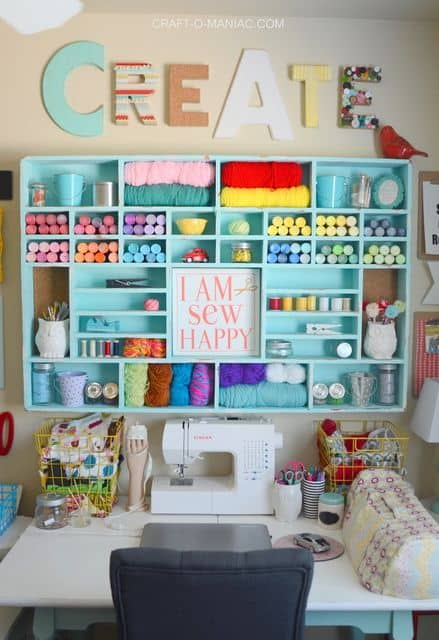 50 Craft Rooms A Girl And A Glue Gun