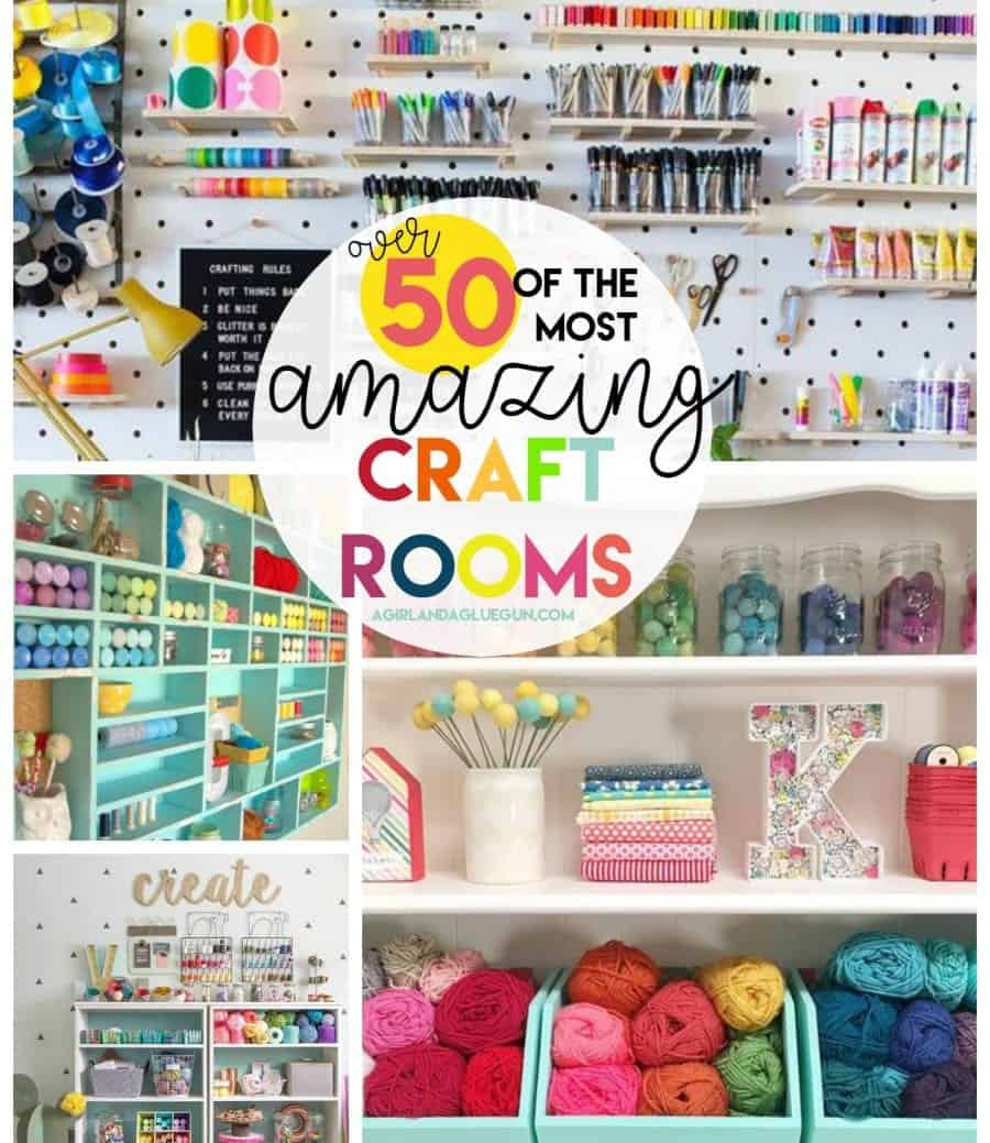 And To See More Fun Craft Rooms Check Out This Post!
