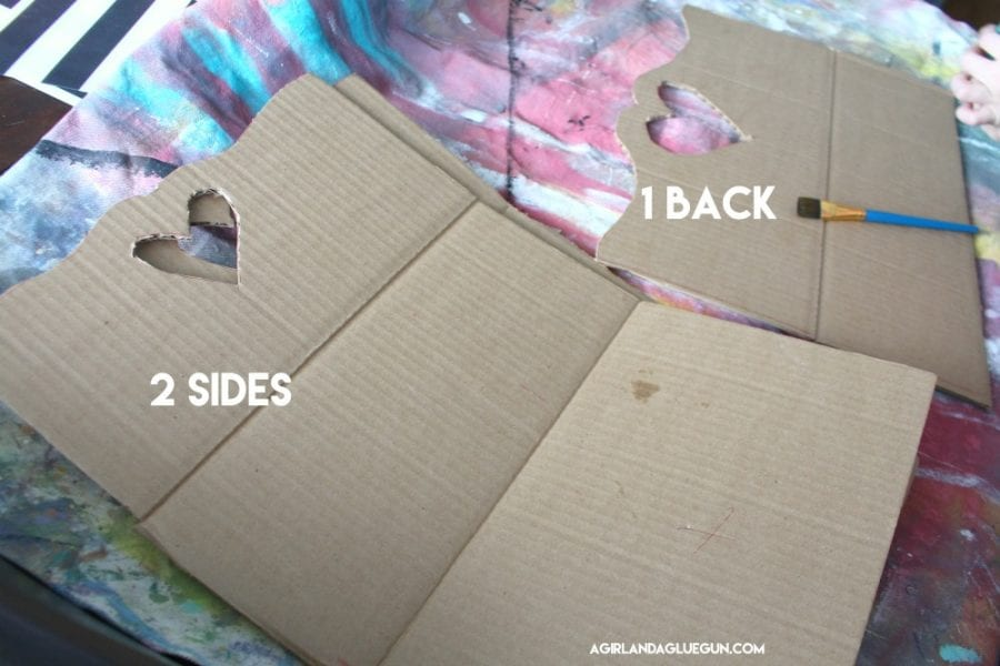 How To Make a Paper Bed For Doll - DIY Origami Bed for Doll's ... | 600x900