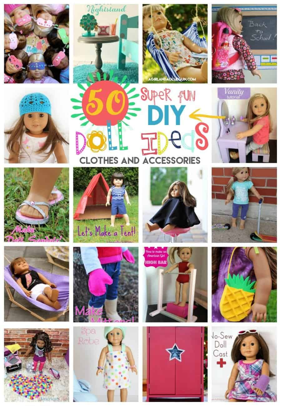 American Girl Doll Diy Clothes And Accessorizes That You