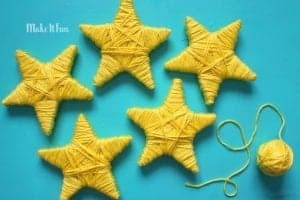 Cute star garland