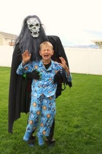 My son's Halloween costume how to