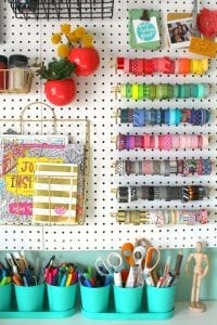 Organizing my craft room