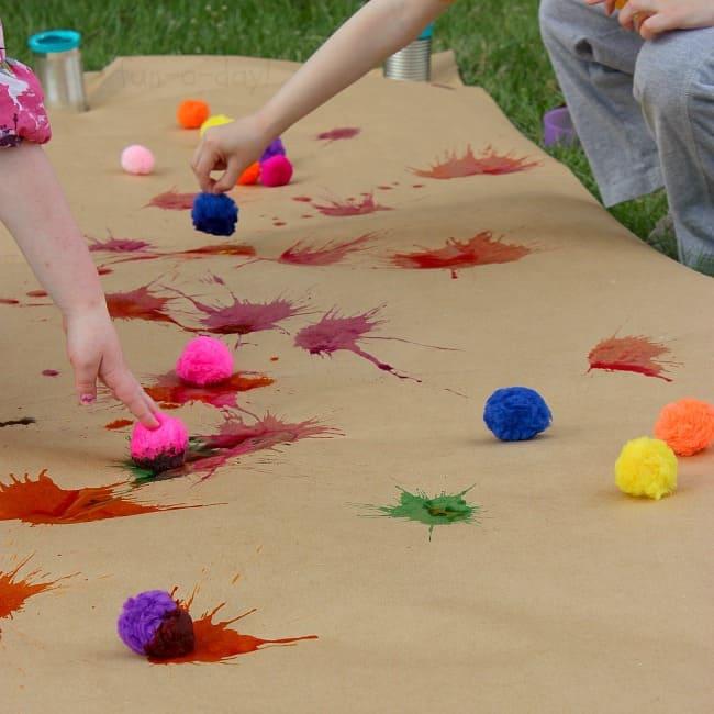 Art Girls Virtual Preschool: Painting Activities For Kids!