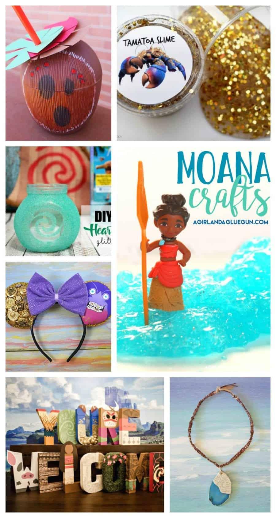 Moana crafts! - A girl and a glue gun