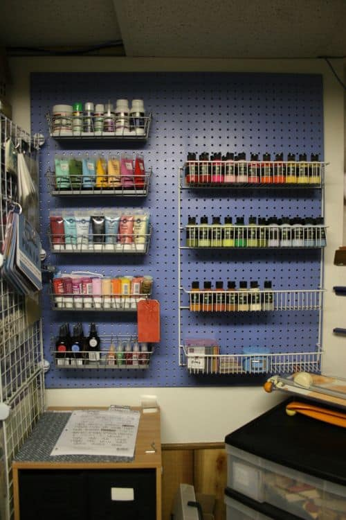 Paint Storage And Organization Roundup A Girl And A Glue Gun