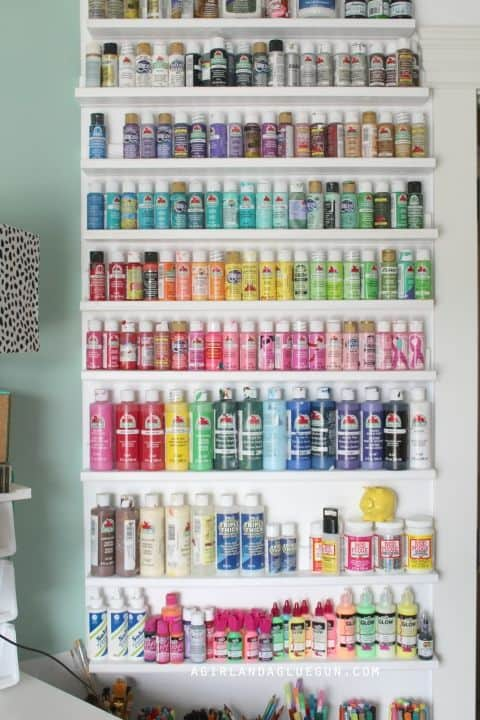 Craft Storage Organization Diy Small Spaces