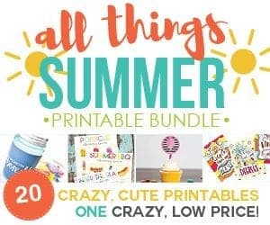 Ultimate Summer Printable bundle!