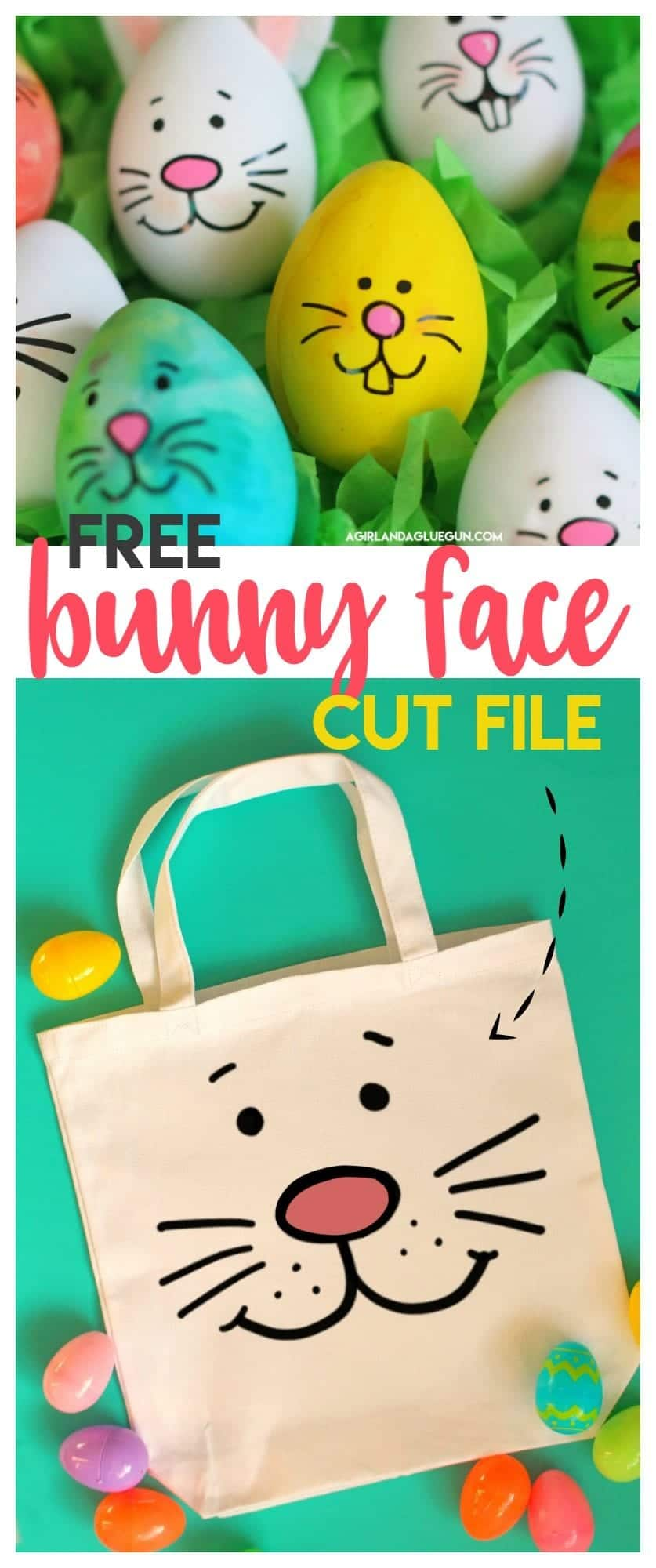 Happy Easter Cut Files For Cameo Or Cricut A Girl And A