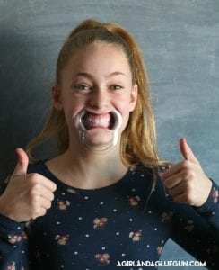 Mouth guard game with free printables!