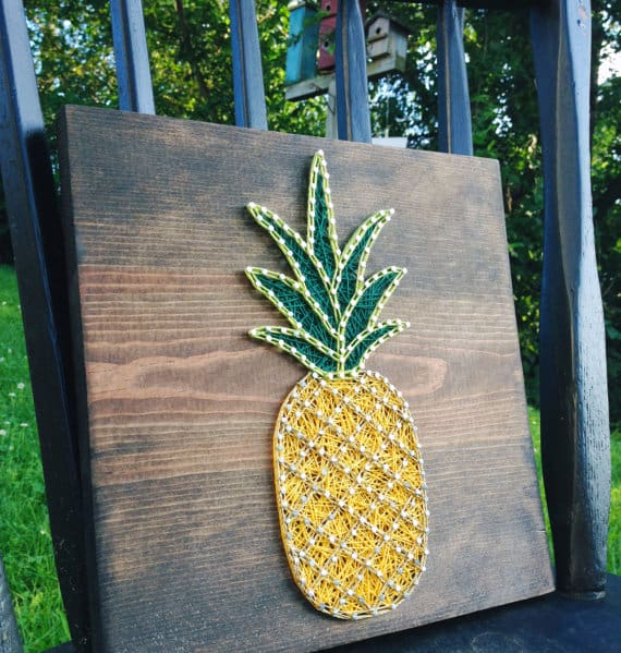 How to do string art tips and tricks a girl and a glue gun or go the other wayand fill the it completely prinsesfo Choice Image