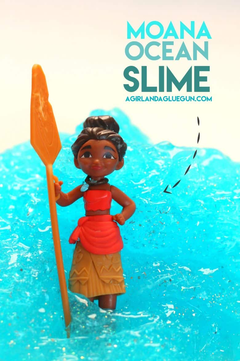 Moana Crafts A Girl And A Glue Gun