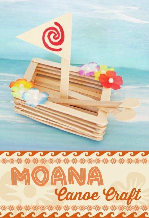Moana Crafts A Girl And A Glue Gun