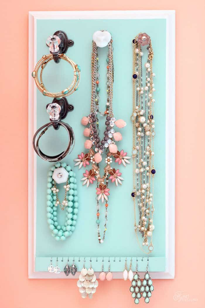 Over 50 Ways To Organize Your Jewelry A Girl And A Glue Gun