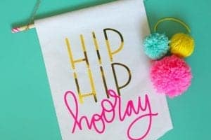 Free cut file–hip hip hooray!