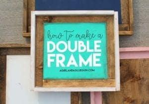Wood Frames…Round 2 Chunky frame!