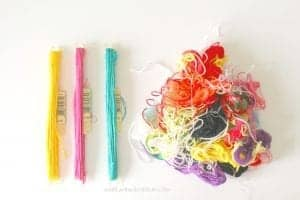 How to organize your embroidery floss