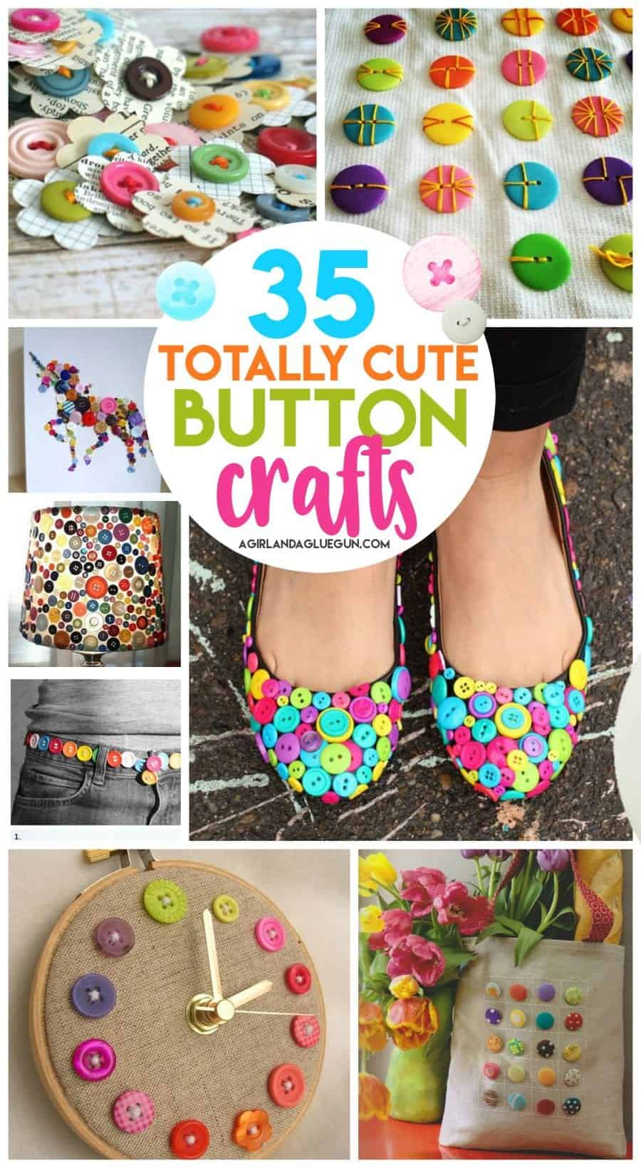 button craft ideas for kids 35 button crafts a and a glue gun 5976