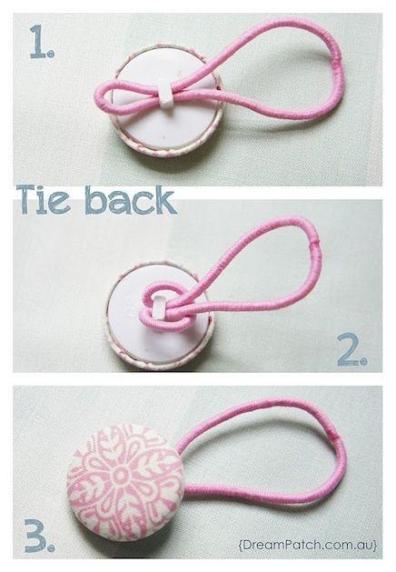 Как сделать резинку на волосы своими руками