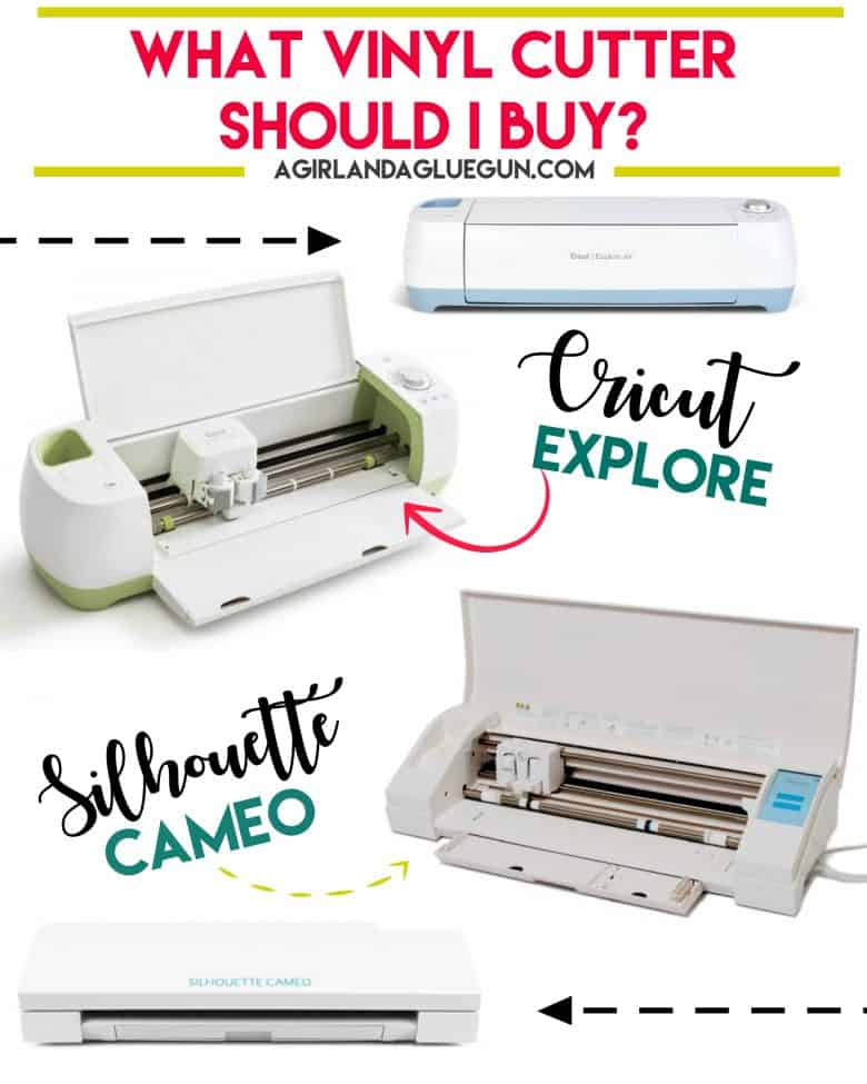 What Should I Do With My Soil: Silhouette Cameo Vs Cricut Explore!