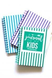A journal to my kids!