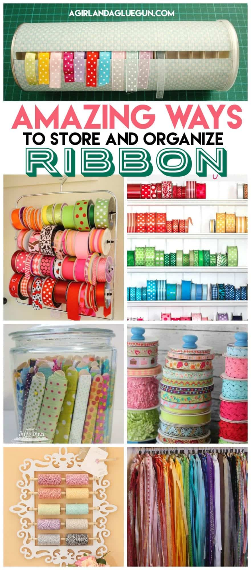 Delicieux I Started Pintersting (like Googling But Prettier) Some Ribbon Storage Ideasu2026.and  Man! So Much Inspiration!