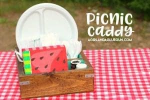 Diy Picnic Caddy