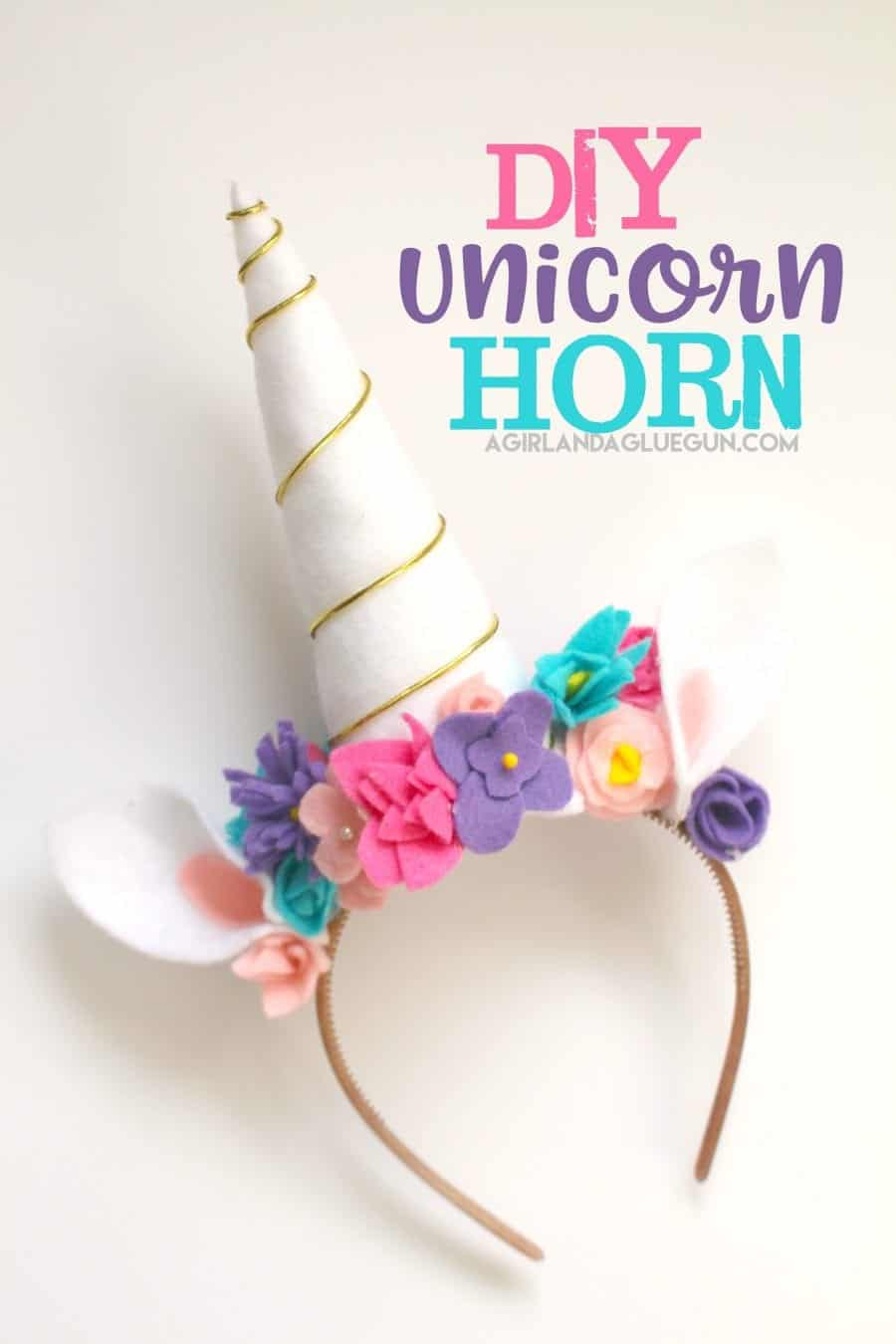 Unicorn costume diy a girl and a glue gun next up is the unicorn horn you can make this how big or small you want the bigger it getsthe heavier and falls off a lot easier so keep it in mind solutioingenieria Choice Image