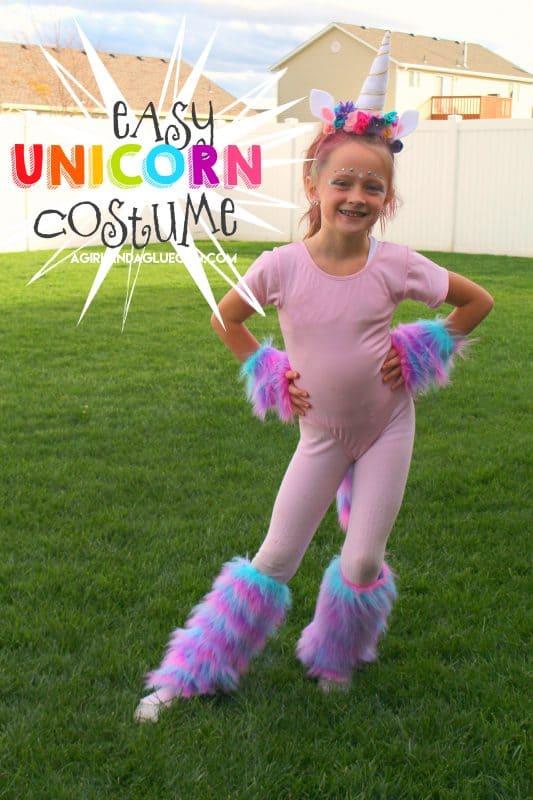 Unicorn Costume Diy A Girl And A Glue Gun