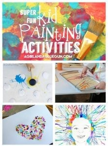 Painting activities for kids!