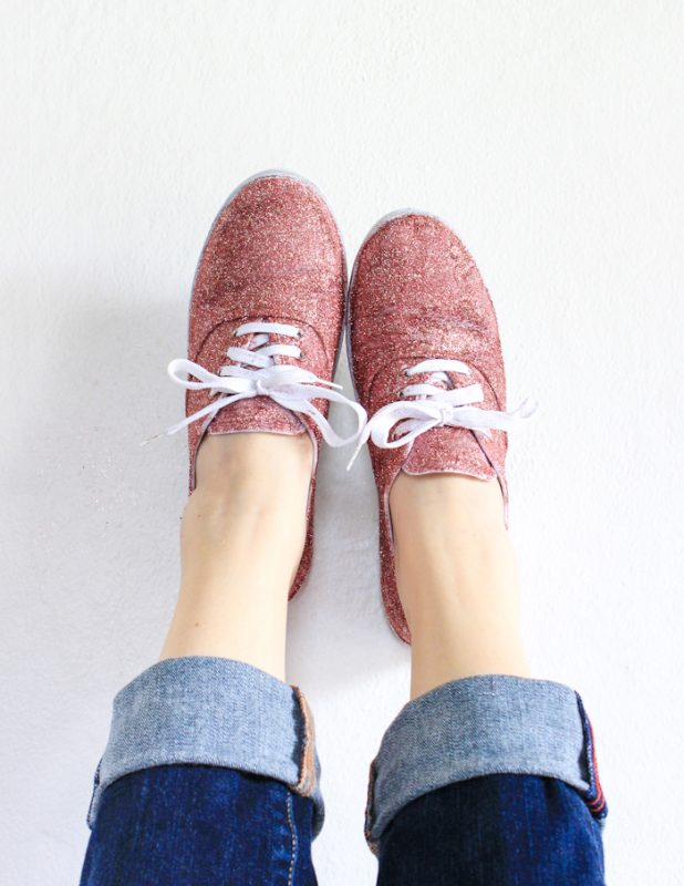 Fun Ways To Decorate Your Sneakers A Girl And A Glue Gun