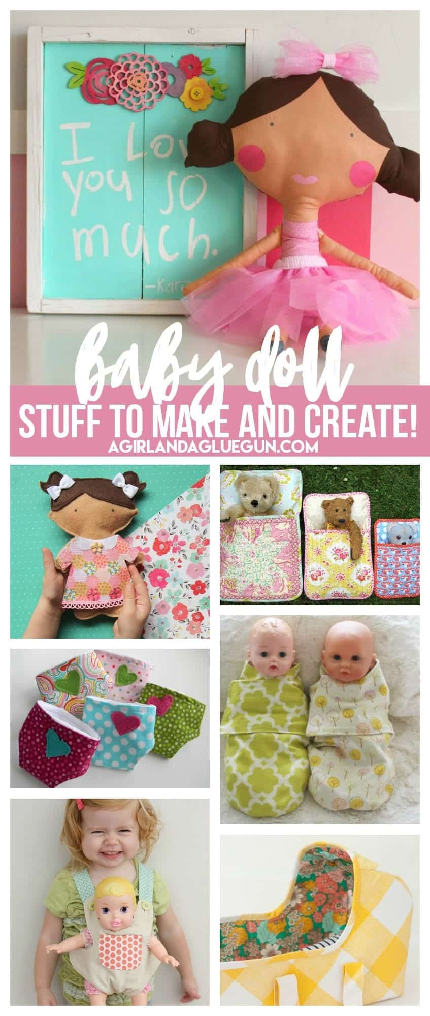 Doll Lover roundup! Stuff to buy make and create! - A girl and a