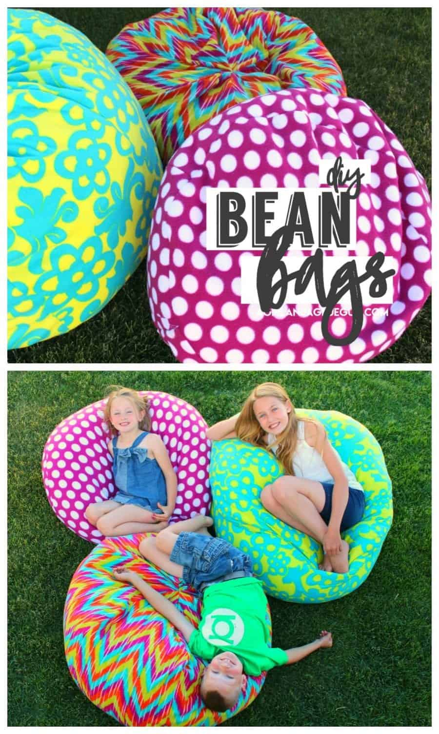 How To Make A Bean Bag Chair And Glue Gun